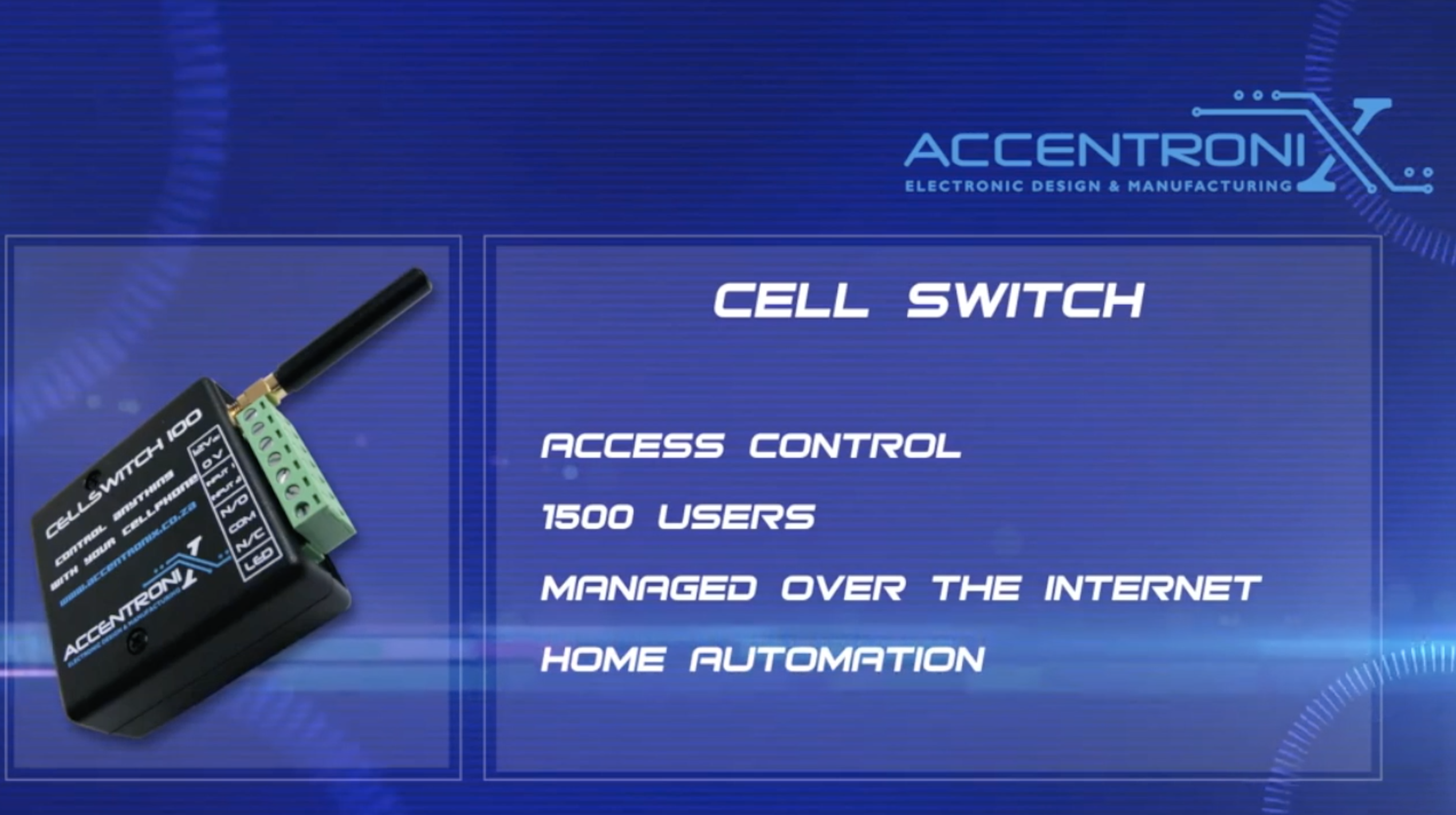 Smartphone control for your alarm & automation services