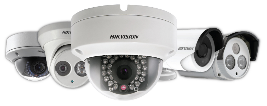 HIkvision IP cameras for wired surveillance