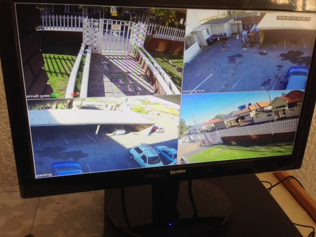 CCTV System Installation with Remote + Set View
